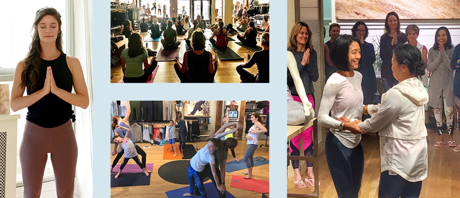 athleta store classes