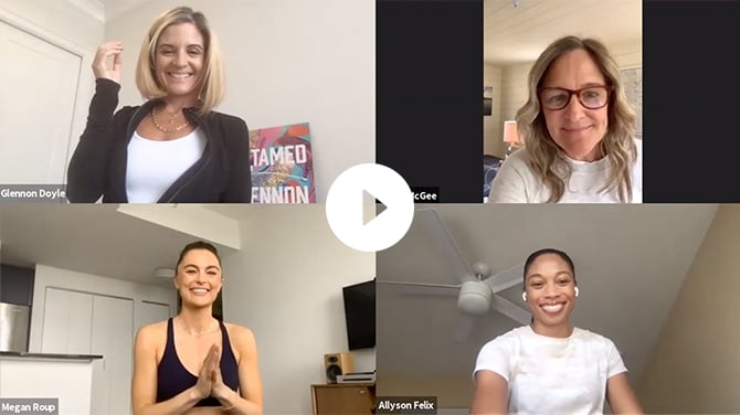 video footage of our empower hour event