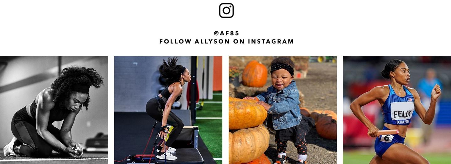 Allyson Felix Instagram images