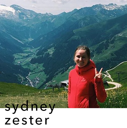 image of sydney zester