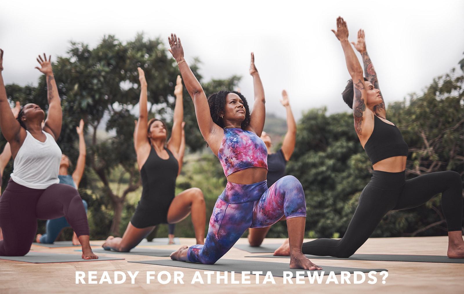 Ready for Athleta Rewards?