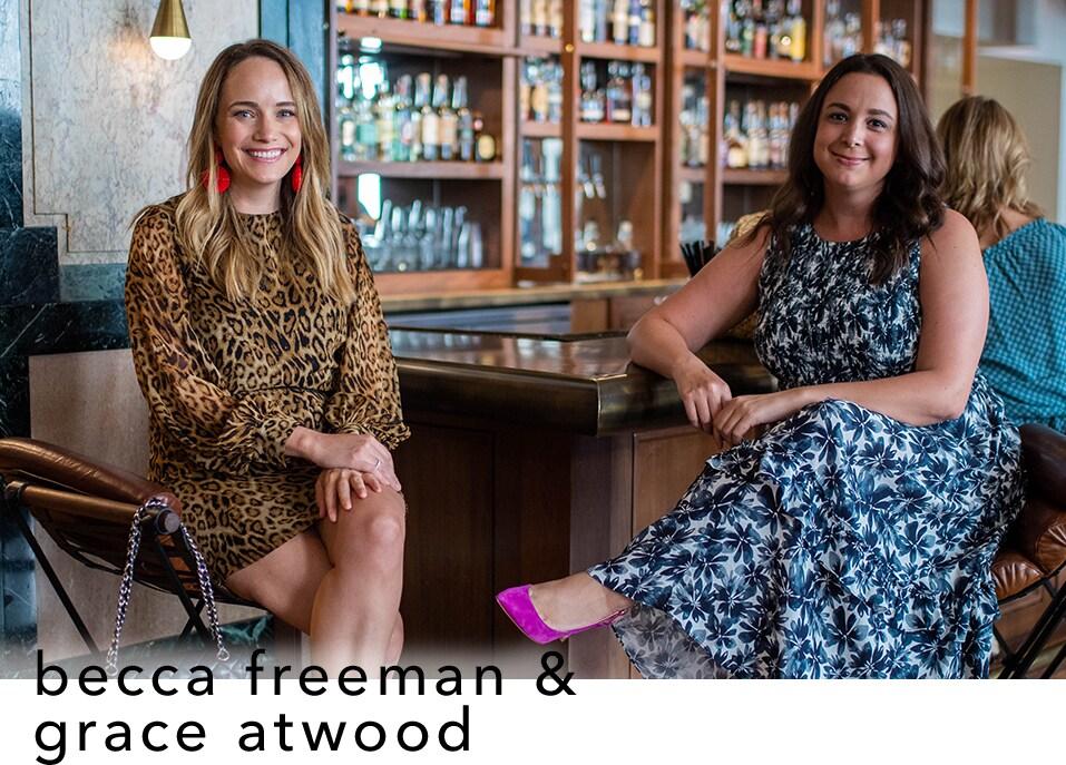 image of Grace Atwood & Becca Freeman
