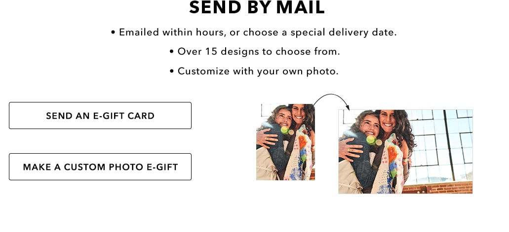 Customized E-Gift Cards