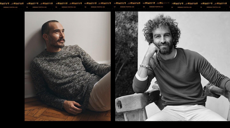 men in sweater image