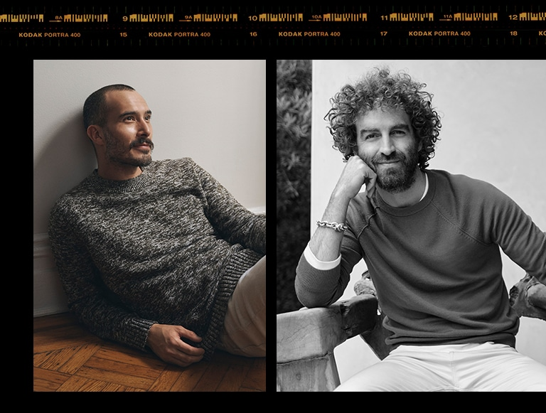 men in sweater image