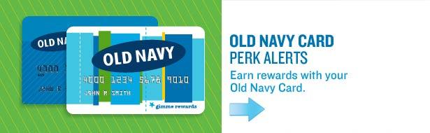 Old Navy Card - Perk Alerts