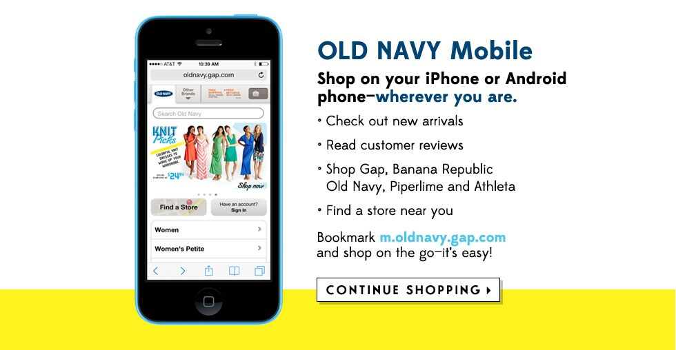 Old Navy Mobile