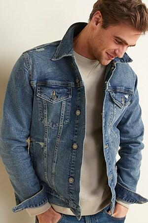 Mens big coats & jackets