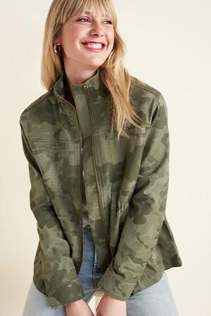 Womens petite coats & jackets