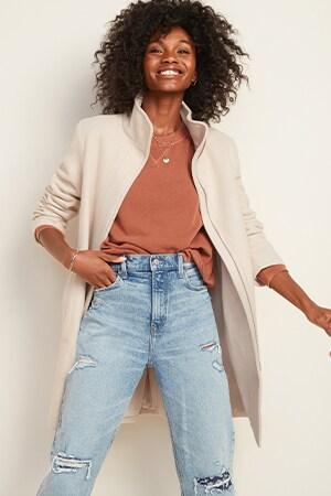 Women Petite Coats & Jackets