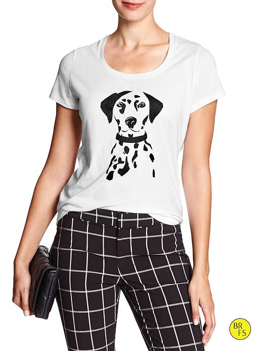 Factory Dalmatian Graphic Tee