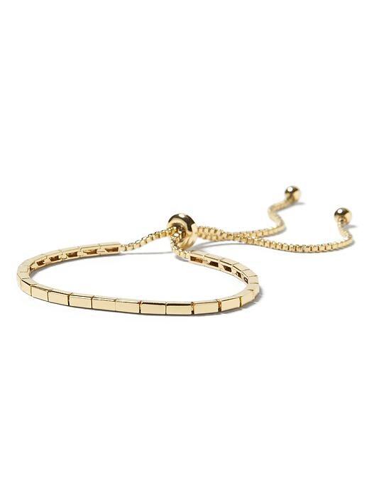 Rectangle Slider Bracelet