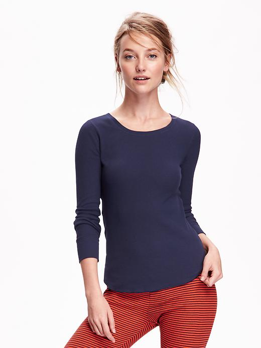 Thermal Crew-Neck Tee for Women