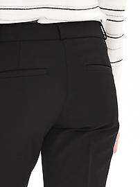 Petite Ryan Slim Straight-Fit Stretch Pant