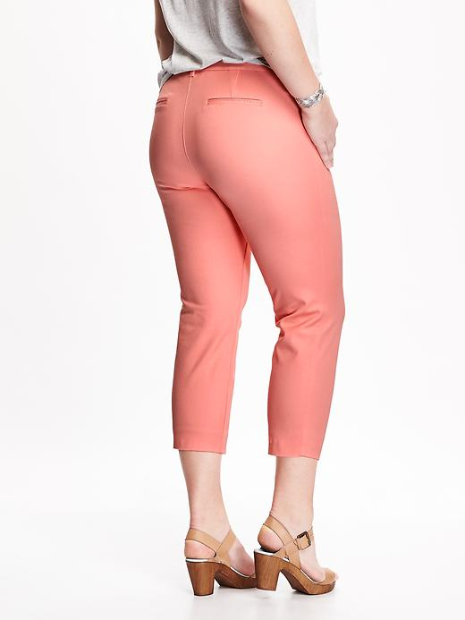 Smooth & Slim Plus-Size Pixie Pants