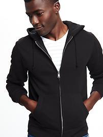 Classic Zip-Front Hoodie for Men