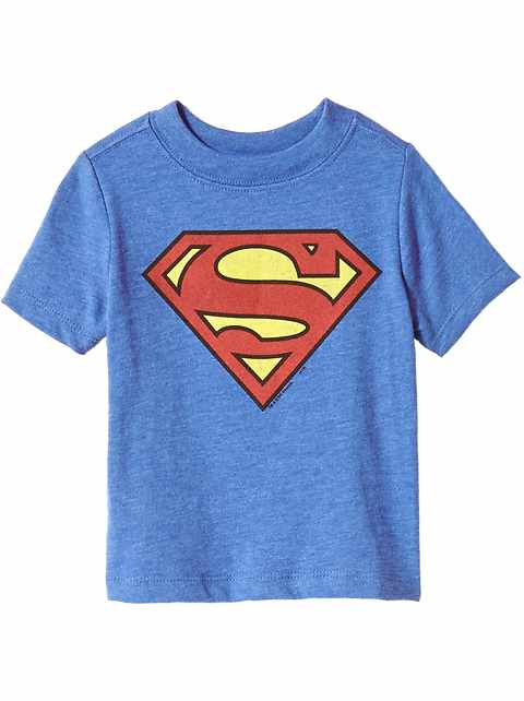 DC Comics153 Superman Tee For Toddler Boys
