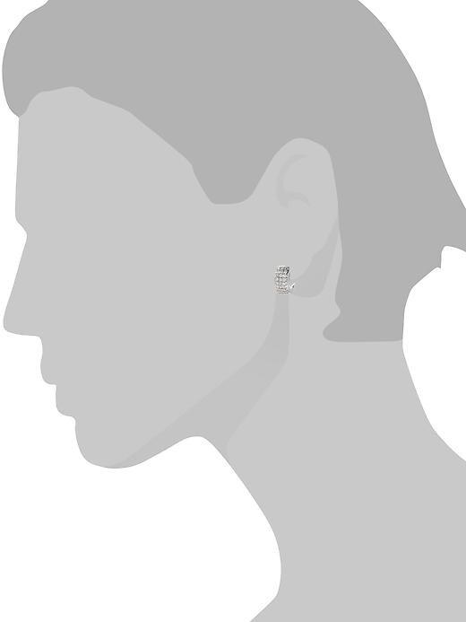 Sparkle Huggie Earrings