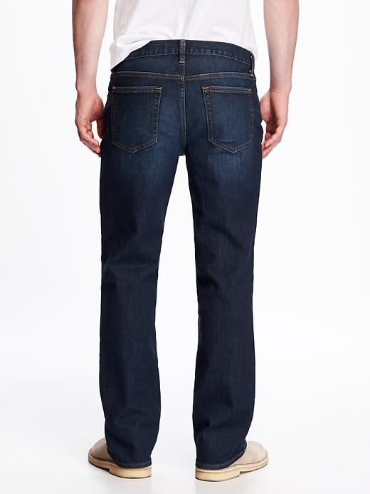 Boot-Cut Built-In Flex Jeans For Men