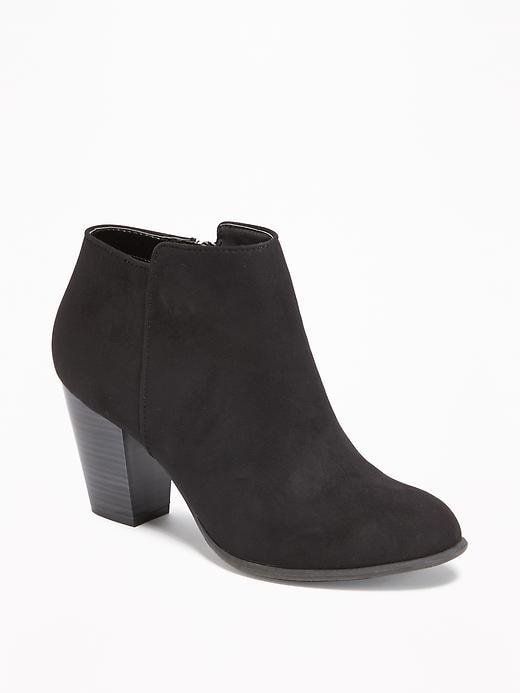 Sueded Ankle Boot for Women