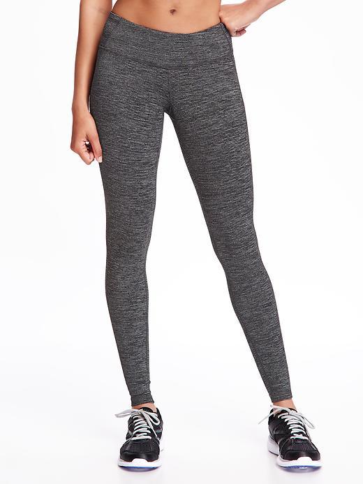 Mid-Rise Jersey Performance Leggings for Women