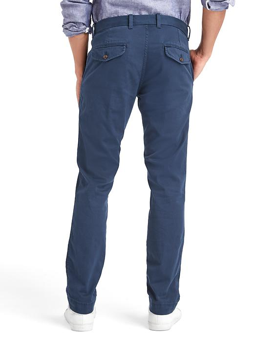 Chino coupe cintrée extensible