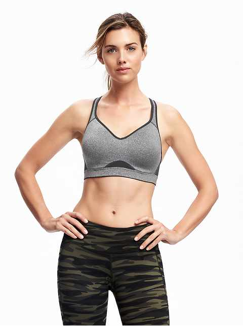 b9133cf367fb6 High Support Racerback Sports Bra for Women