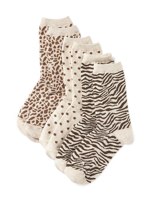 Paquet de trois paires de chaussettes habillées pour femme