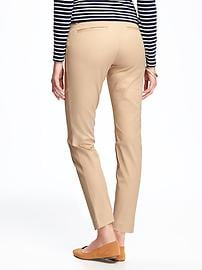 Maternity Side-Panel Pixie Ankle Pants