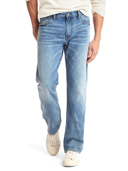 Gap Men's Brushed Back Standard Fit Jeans