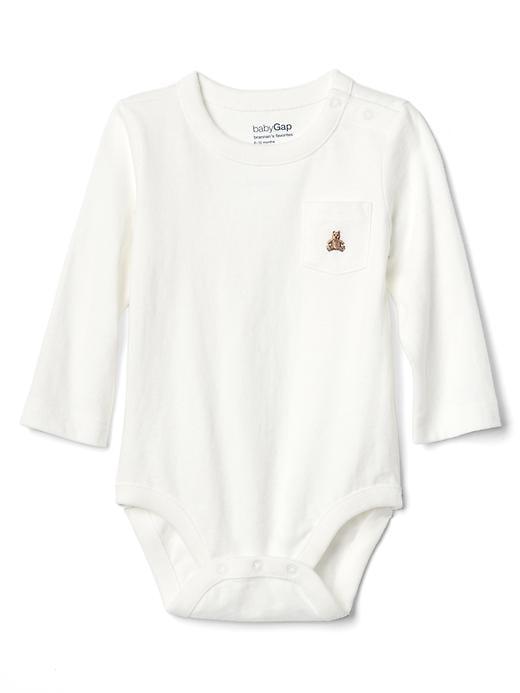 Cache-couche à poche avec ours Brannan (bébé)