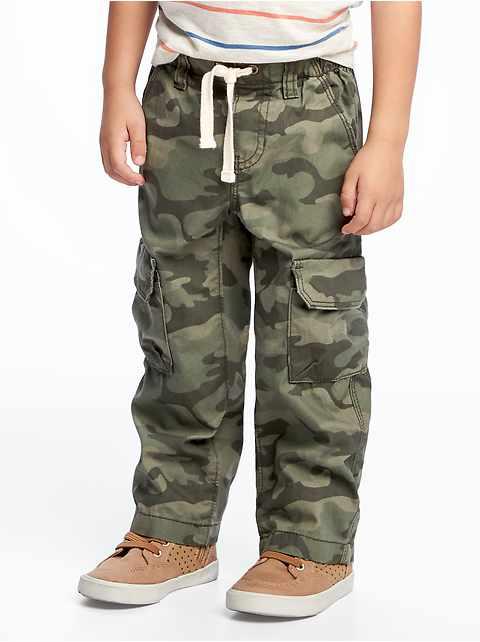 b194ba97f Pull-On Cargo Pants for Toddler Boys