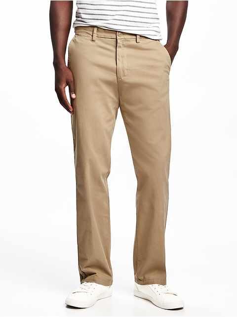 1b2beb09e8b41 Straight Ultimate Built-In Flex Khakis for Men