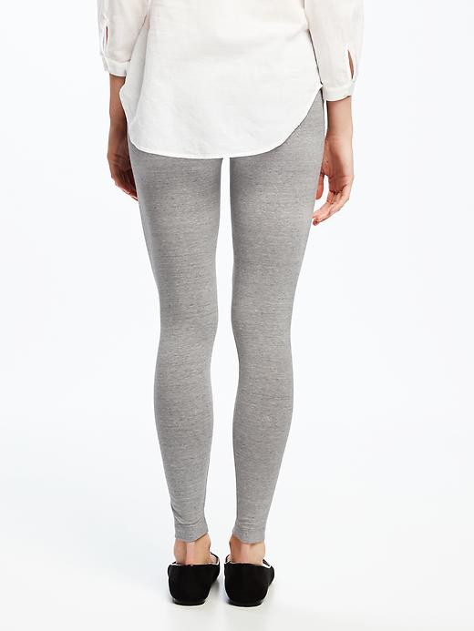 Mid-Rise Space-Dye Leggings for Women