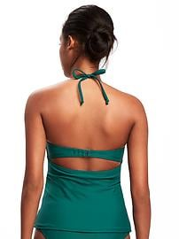 Underwire Halter Tankini Top for Women
