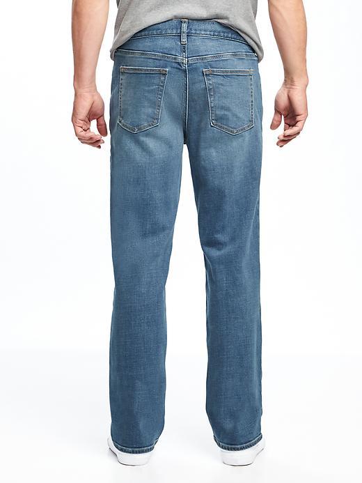 Loose Built-In Flex Jeans For Men