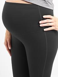 Maternity GapFit Blackout Full Panel Full Length Leggings