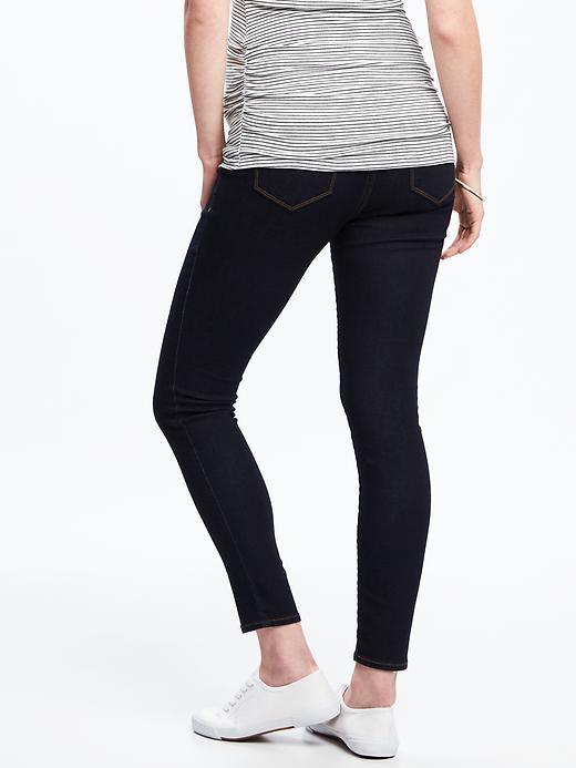Maternity Premium Full-Panel Rockstar Jeans