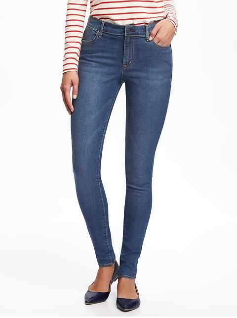 Mid-Rise Super Skinny Jeans for Women d7a5677e4