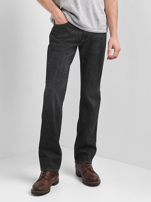 Gap Men's Straight fit jeans (Washed Grey)