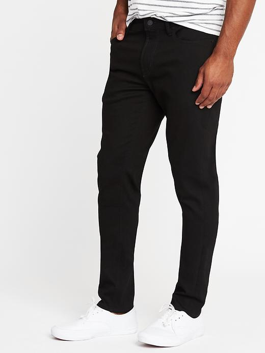 Relaxed Slim Built-In Flex Max Never-Fade Jeans For Men