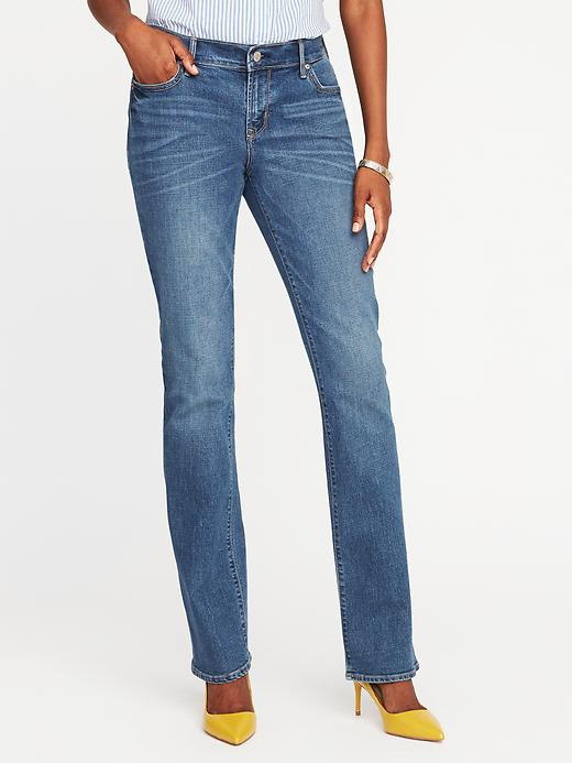 Mid-Rise Original Boot-Cut Jeans for Women