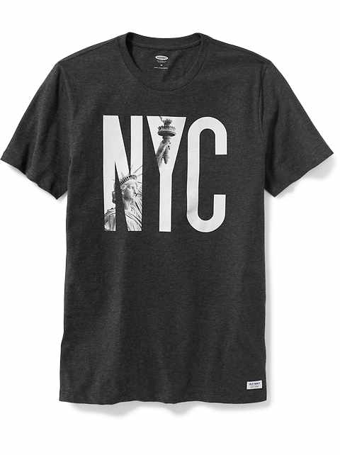 49c63032389 New York-Graphic Tee for Men
