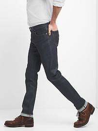 Selvedge Skinny Jeans with GapFlex