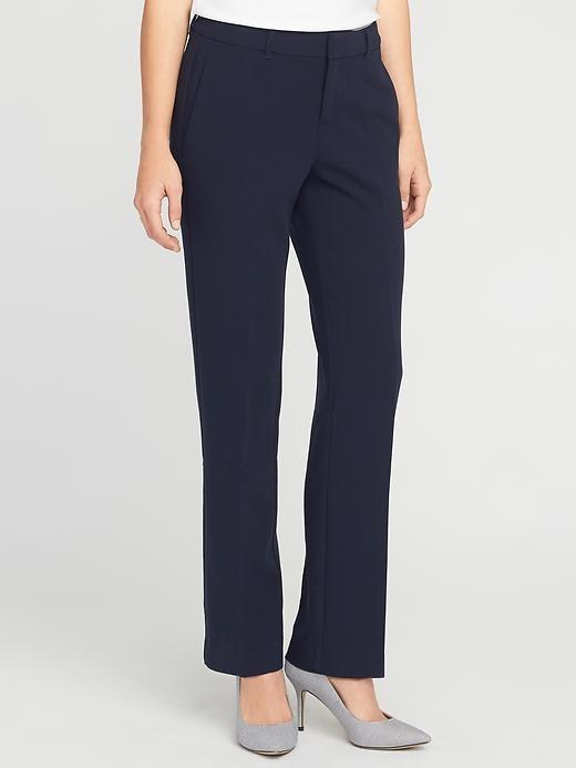 Mid-Rise Harper Full-Length Pants for Women