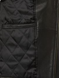 Leather Biker Jacket