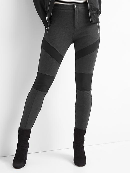Gap Women's Moto Zip Leggings