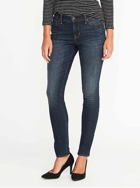 Mid-Rise Curvy Skinny Jeans for Women 63b3c2a0f8