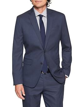Banana Republic Slim-Fit Stretch Navy Blazer