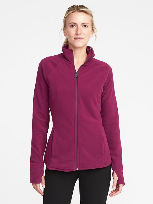 Old Navy Micro Fleece Full-Zip Jacket for Women
